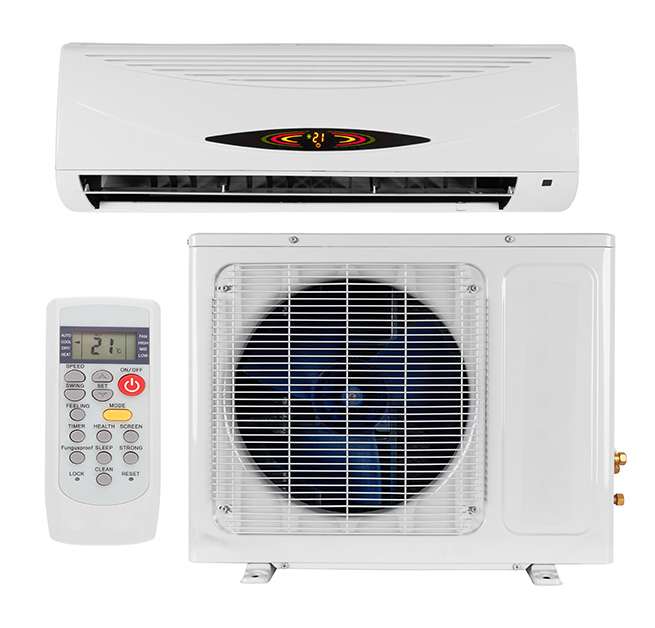 Heat pump examples with remote control
